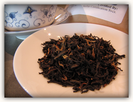 Yunnan Gold dry leaves